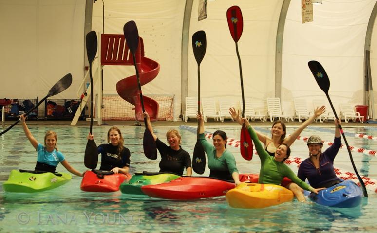 We LOVE kayaking!